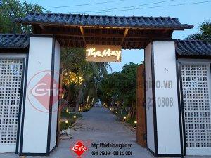 Bàn Giao Công Trình Quán Cafe The May - Khánh Hòa