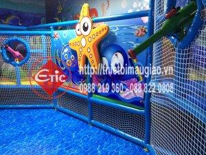 Hoàn thiện khu vui chơi trong nhà Vincom - Hà Tĩnh