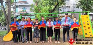 Khánh Thành Sân Chơi Quận 6