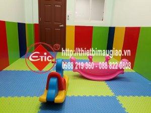 Thi công lắp đặt phòng chơi trẻ em cho Nhà Văn Hóa - Thanh Đa - Bình Thạnh