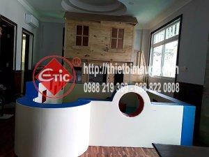 Thi công thiết bị vui chơi trong nhà cho quan cafe ở Phú Mỹ Hưng - Quận 7