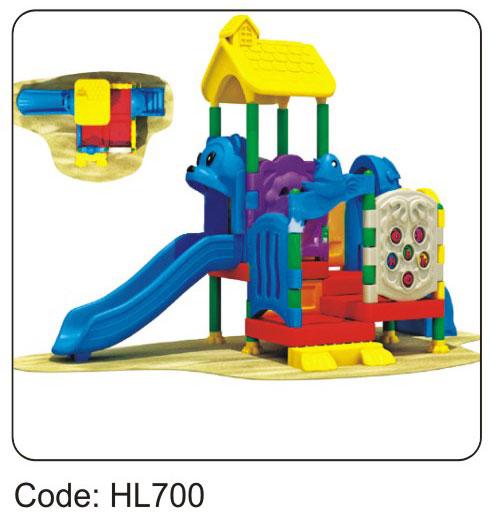 Cầu trượt liên hoàn HL700