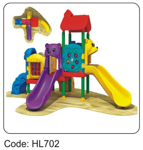 Cầu trượt liên hoàn HL702