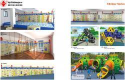 Thiết kế khu vui chơi trong nhà HT-8261B - Kích thước 680x460x320cm