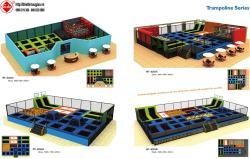 Thiết kế khu vui chơi trong nhà HT-8264A - Kích thước 2000x960x450cm