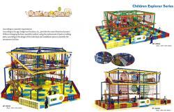 Thiết kế khu vui chơi trong nhà HT-8064A - Kích thước 1000x1150x630cm