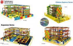 Thiết kế khu vui chơi trong nhà HT-8066B - Kích thước 1700x1200x630cm