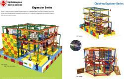 Thiết kế khu vui chơi trong nhà HT-8068A - Kích thước 1200x1500x630cm